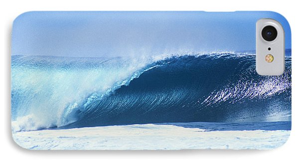 Perfect Wave At Pipeline IPhone Case by Vince Cavataio - Printscapes
