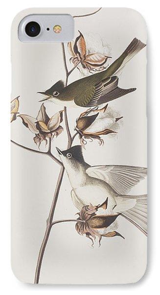 Flycatcher iPhone 7 Case - Pewit Flycatcher by John James Audubon