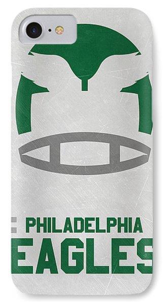 Philadelphia Eagles Vintage Art IPhone Case