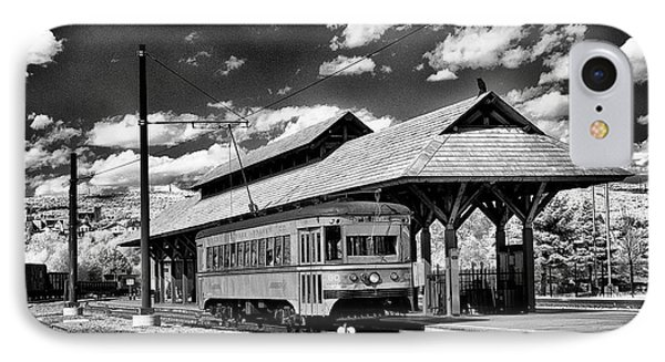 IPhone Case featuring the photograph Philadelphia Trolley by Paul W Faust - Impressions of Light