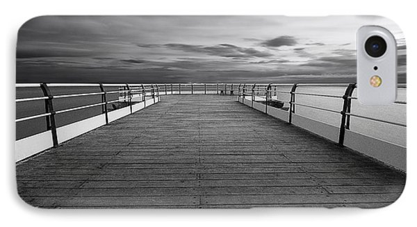 Pier End IPhone Case by Nichola Denny