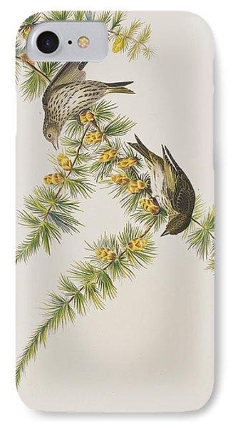 Pine Finch IPhone 7 Case by John James Audubon