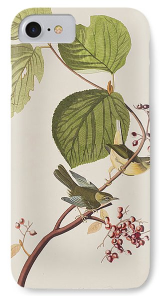Pine Swamp Warbler IPhone 7 Case by John James Audubon