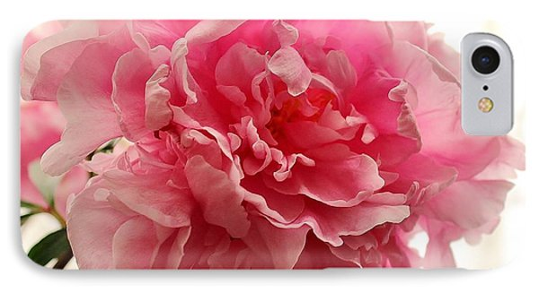 Pink Peony 2 IPhone Case by Katy Mei