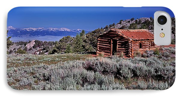 Pioneer Cabin IPhone Case by Leland D Howard