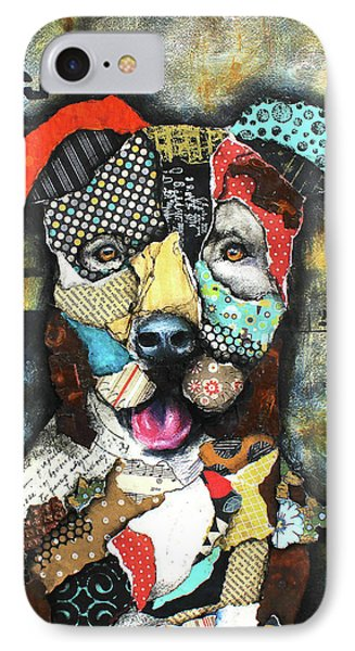 Pit Bull IPhone Case by Patricia Lintner