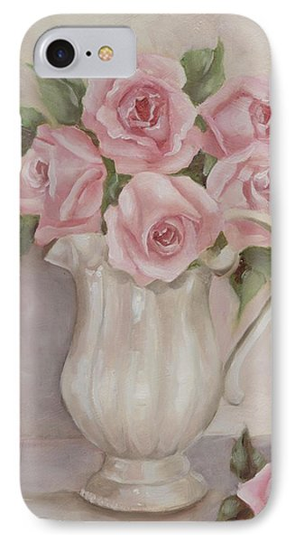 Pitcher Of Roses IPhone Case by Chris Hobel