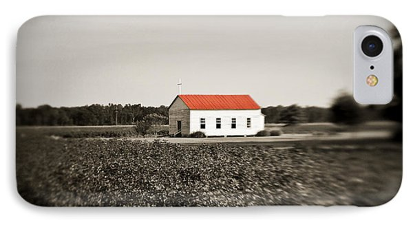Plantation Church Phone Case by Scott Pellegrin