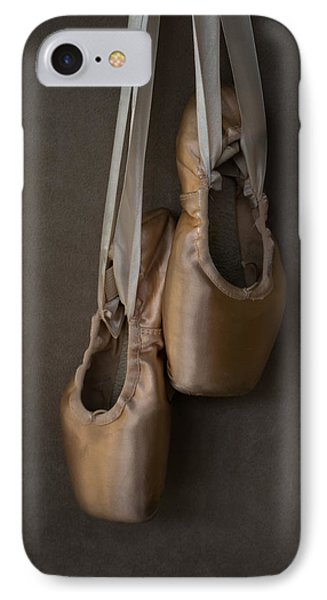 IPhone Case featuring the photograph Sacred Pointe Shoes by Laura Fasulo