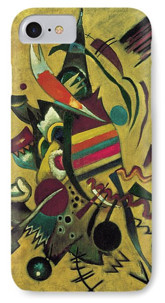 Points  IPhone Case by Wassily Kandinsky