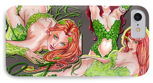 Poison Ivy Phone Case by Bill Richards