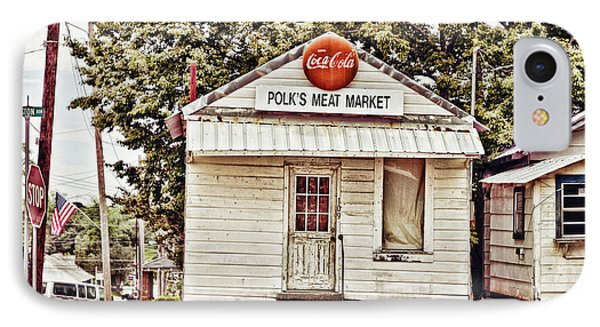 Polk's Meat Market Phone Case by Scott Pellegrin