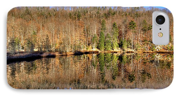 IPhone 7 Case featuring the photograph Pond Reflections by David Patterson