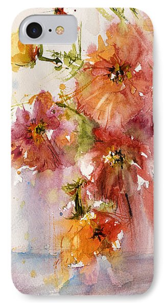 Poppies IPhone Case by Judith Levins