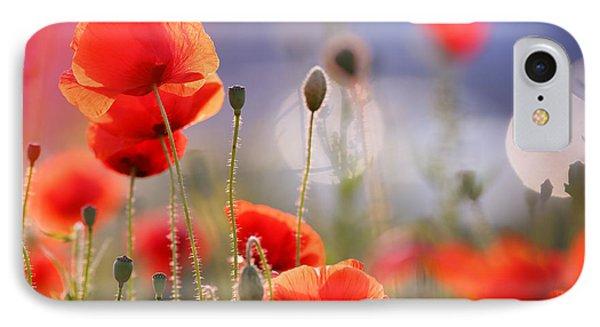 Poppy Delight IPhone Case by Roeselien Raimond