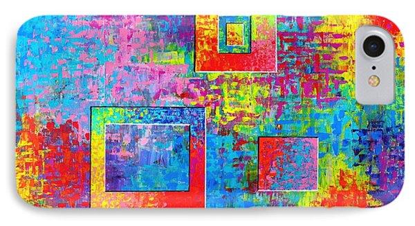 Portals Of Color IPhone Case by Jeremy Aiyadurai