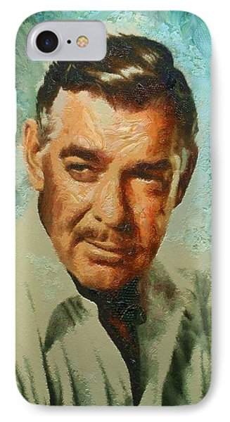 Portrait Of Clark Gable IPhone Case