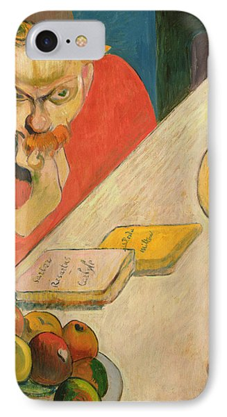 Portrait Of Jacob Meyer De Haan IPhone Case by Paul Gauguin