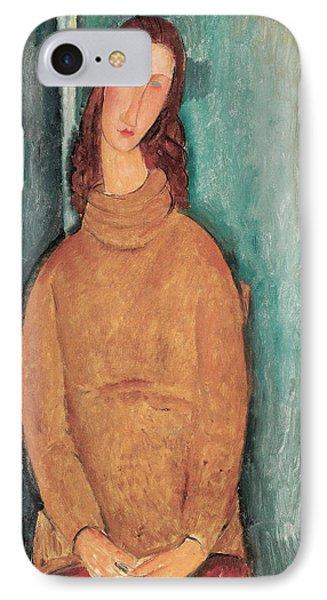Portrait Of Jeanne Hebuterne IPhone Case