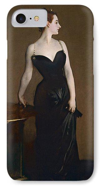 Portrait Of Madame Gautreau IPhone Case by John Singer Sargent