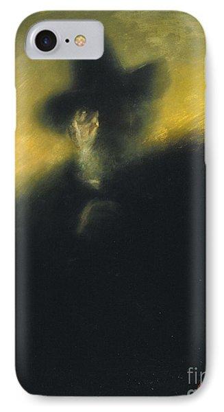Portrait Of Manuel Dalmau Oliveres IPhone Case by Celestial Images