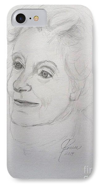 Portrait Of Mother IPhone Case