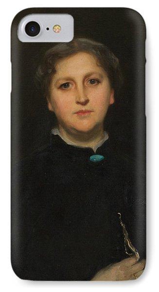 Portrait Of Mrs Raphael Pumpelly IPhone Case