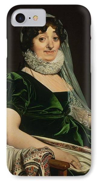 Portrait Of The Countess Of Tournon IPhone Case by Jean-Auguste-Dominique Ingres
