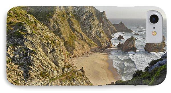 IPhone Case featuring the photograph Praia Da Ursa Portugal  by Marek Stepan