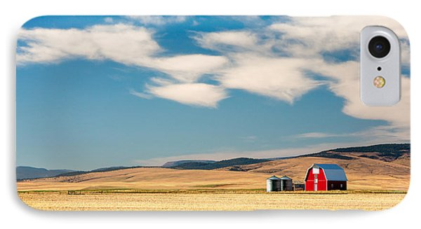Prairie Red IPhone Case by Todd Klassy