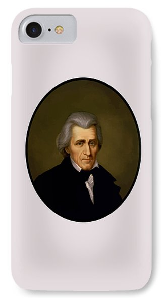 President Andrew Jackson Phone Case by War Is Hell Store