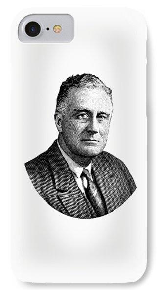 President Franklin Roosevelt Graphic  IPhone Case