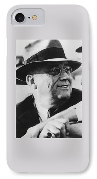 President Franklin Roosevelt IPhone Case by War Is Hell Store
