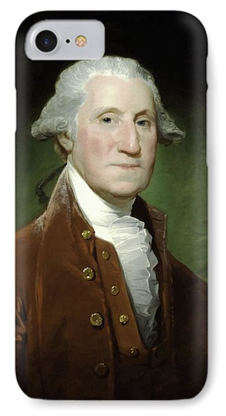 President George Washington  IPhone 7 Case by War Is Hell Store