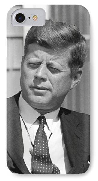 President John Kennedy Phone Case by War Is Hell Store