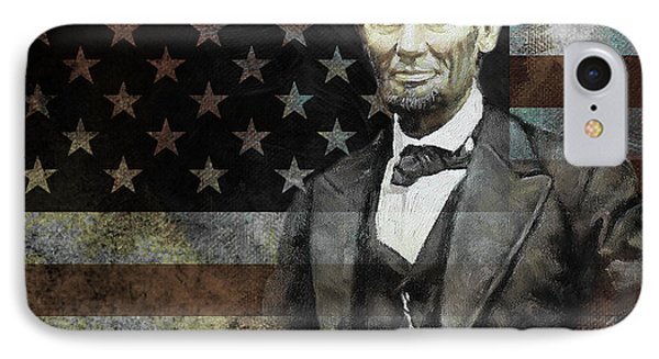 President Lincoln  IPhone Case by Gull G