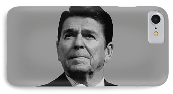 President Reagan IPhone Case by War Is Hell Store