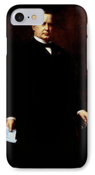 President William Mckinley  Phone Case by War Is Hell Store