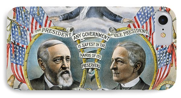 Presidential Campaign, 1888 IPhone Case by Granger