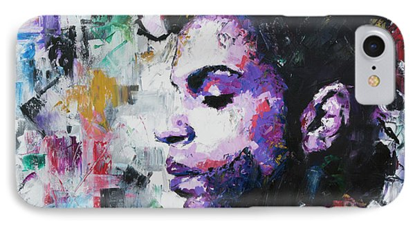 Prince IPhone Case by Richard Day