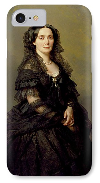 Princess Kotschoubey IPhone Case by Franz Xaver Winterhalter