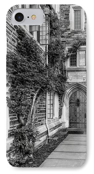 IPhone Case featuring the photograph Princeton University Foulke Hall II by Susan Candelario