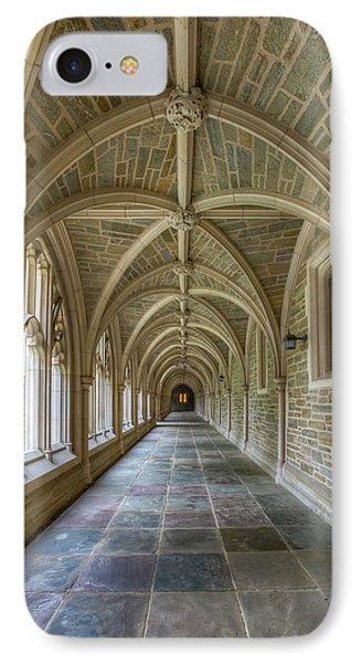 Princeton University Hallway IIi IPhone Case by Susan Candelario