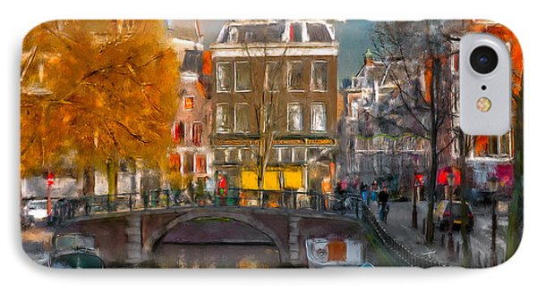 IPhone Case featuring the photograph Prinsengracht 807. Amsterdam by Juan Carlos Ferro Duque