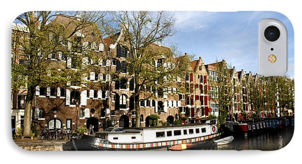 Prinsengracht IPhone Case by Fabrizio Troiani