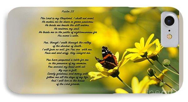 Psalm 23 IPhone Case by Debby Pueschel