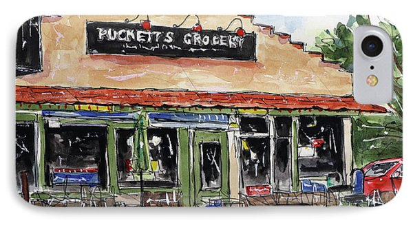 Puckett's Grocery IPhone Case by Tim Ross