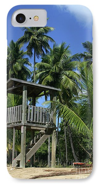 Puerto Rico Palms Phone Case by Madeline Ellis