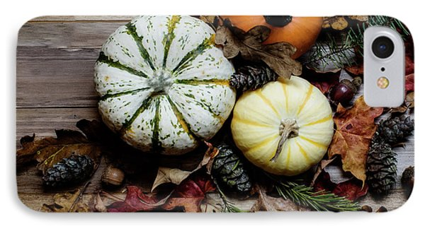 IPhone Case featuring the photograph Pumpkins by Rebecca Cozart