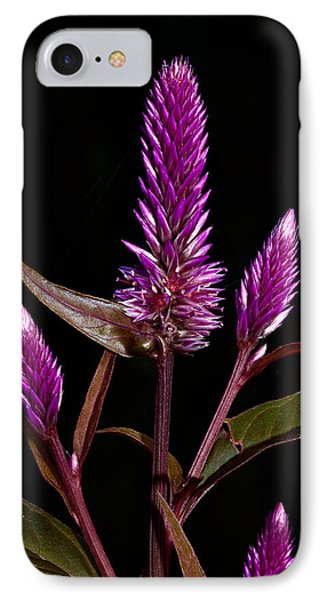 Purple Phone Case by Christopher Holmes